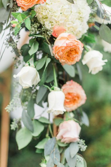 Peach & Cream Wedding Flowers