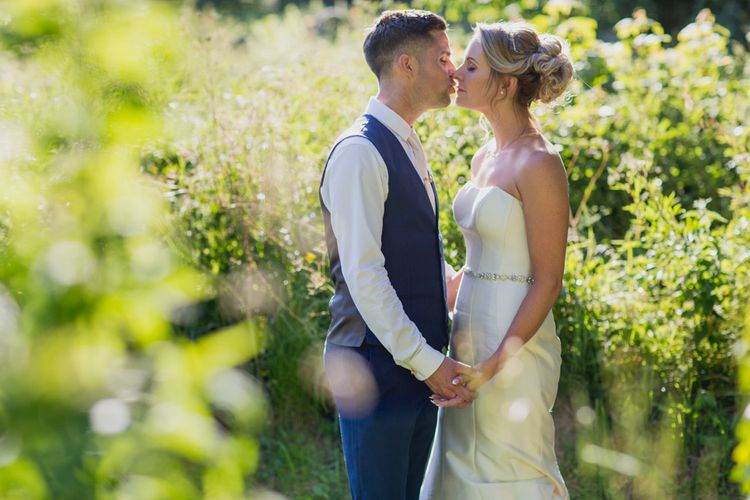 Pink & Rose Gold Colour Palette For A Pretty Wedding At Launcells Barton Bude With Bride In Maggie Sottero And Images From Rebecca Roundhill Photography