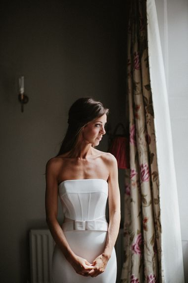 Beautiful Bride in Suzanne Neville