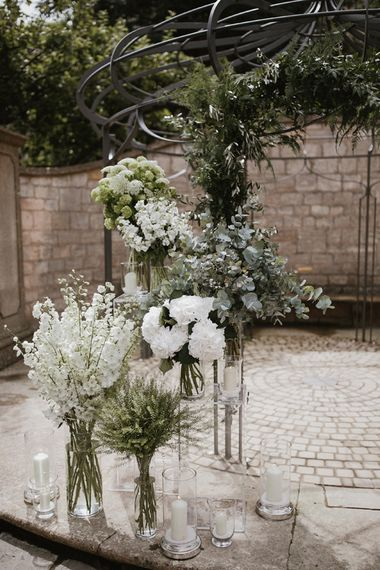 White & Green Wedding Flowers   Flowers by Passion