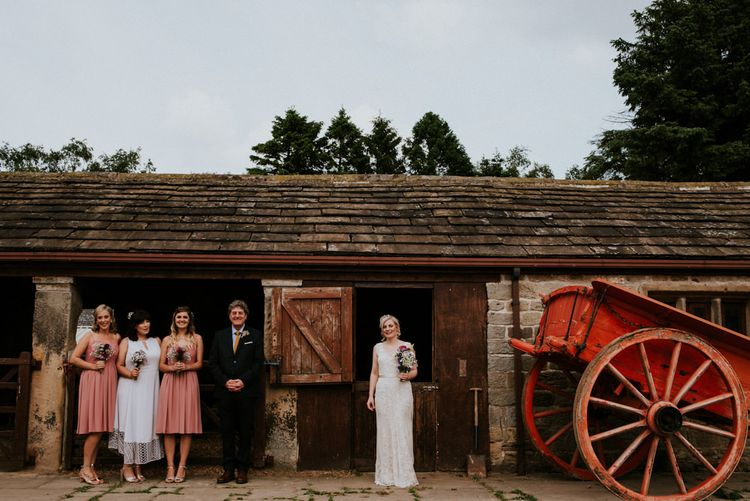 Bridal Party   Colourful Outdoor Wedding at Lineham Farm in Leeds   Shutter Go Click Photography