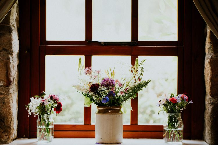 Homegrown Wild Flowers   Colourful Outdoor Wedding at Lineham Farm in Leeds   Shutter Go Click Photography