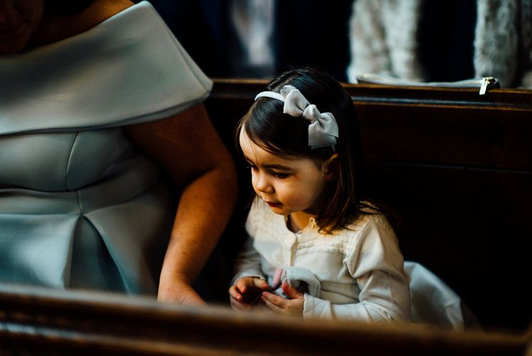 Flower Girl in Monsoon | Michelle Wood Photography