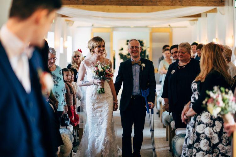 Bridal Wedding Ceremony Entrance | Dale Weeks Photography