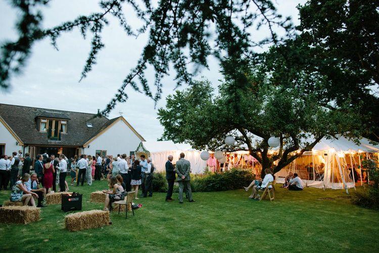 Back Garden Marquee Wedding