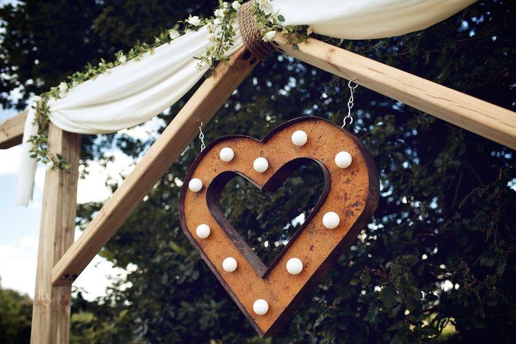 Rustic LED Light | Altar Wedding Decor | Vintage Weddings Photography