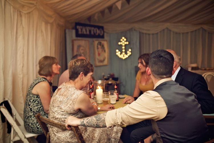 DIY Rustic Wedding Reception | Vintage Weddings Photography