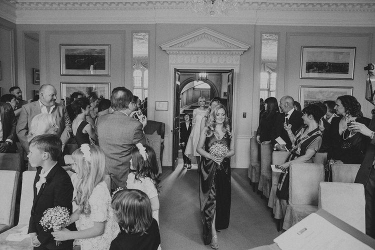Wedding Ceremony at Ruston Hall Northamptonshire | Marshal Gray Photography
