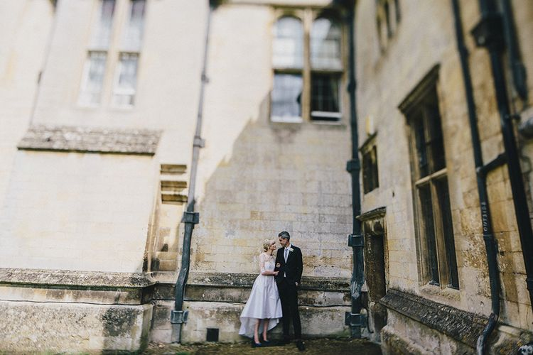 Stylish Bride in Separates by Noble and Wright | Groom in Folk Suit | Marshal Gray Photography