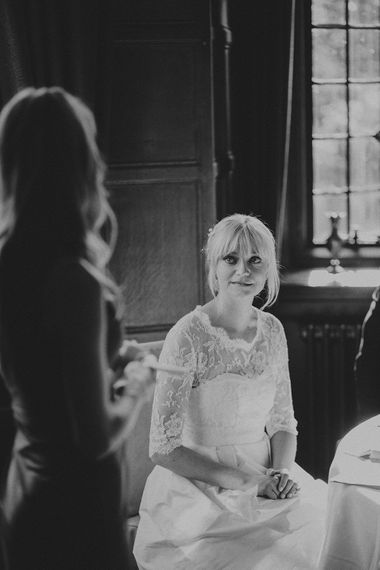 Stylish Bride in Separates by Noble and Wright | Marshal Gray Photography