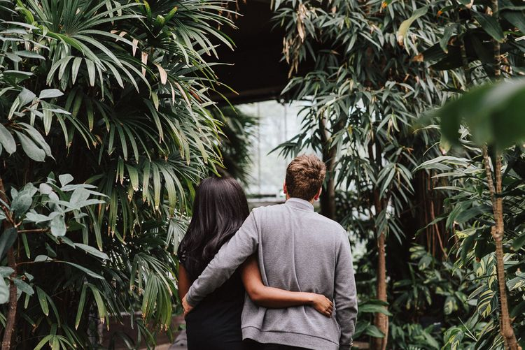 Engagement Shoot At The Barbican London With Images by Fern Edwards Photography