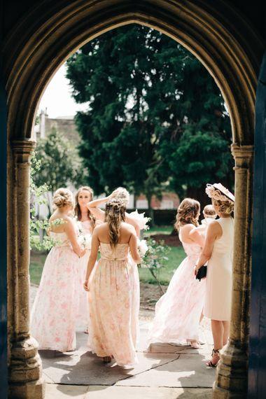 "Bridesmaids in Plum Pretty Sugar | Image by <a href=""https://www.mandjphotos.com/"" target=""_blank"">M&J Photography</a>"