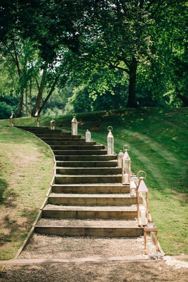 """Steps with Lanterns 