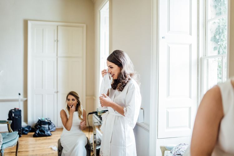 Elegant & Minimal Black Tie Wedding With Monochrome Colour Palette Kenneth Winston Bride Hugo Boss Groom Bridesmaids In White Darina Stoda Photography