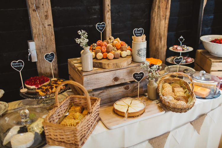 Dessert Bar At Wedding