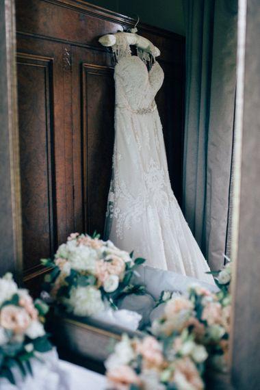 Lace Stella York 6272 Bridal Gown   Pastel Wedding at Parkside School in Surrey   Nikki van der Molen Photography   The Modern Revelry Film
