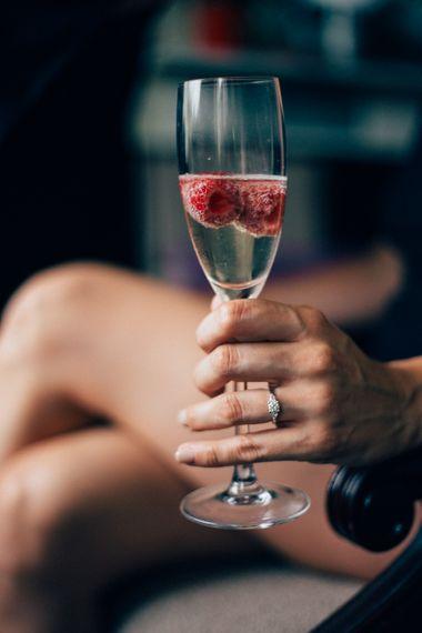 Champagne   Pastel Wedding at Parkside School in Surrey   Nikki van der Molen Photography   The Modern Revelry Film