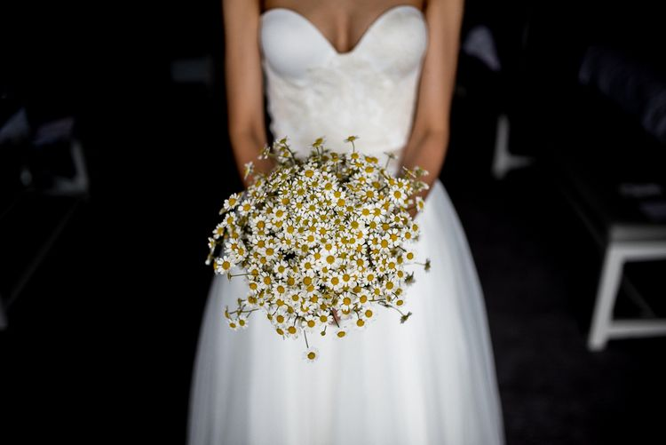Wild Daisy Bridal Bouquet