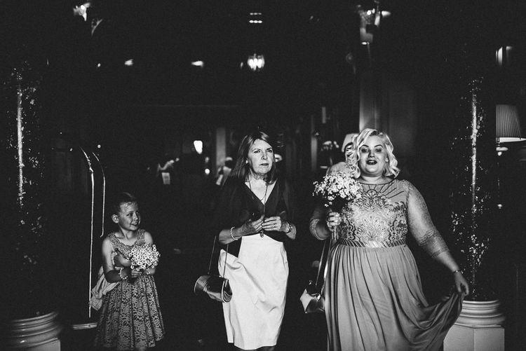 Bridesmaid in Monsoon Dress