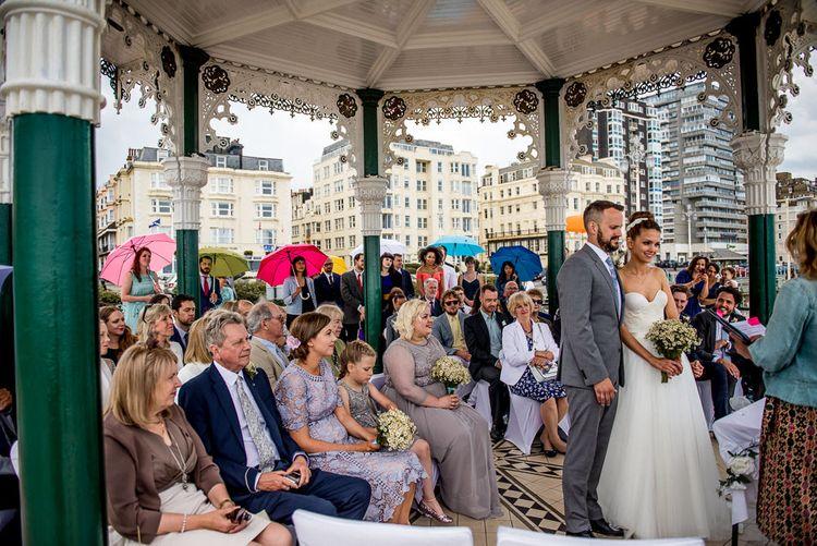 Brighton Bandstand Wedding Ceremony