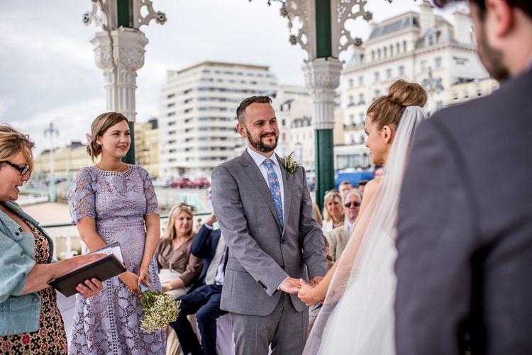 Brighton Bandstand Wedding Ceremony | Wedding Vows