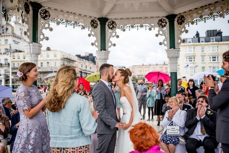 Brighton Bandstand Wedding Ceremony | Married