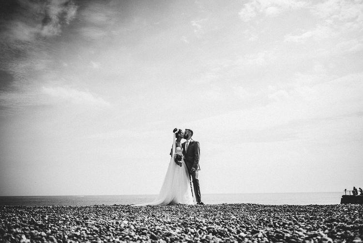 Bride & Groom Brighton Seafront