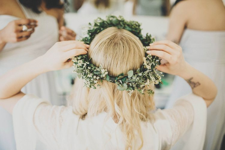 Greenery & Wild Flower Floral Crown