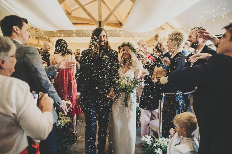 Bride & Groom Married