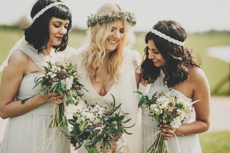 White Elise Ryan Bridesmaid Dresses from ASOS