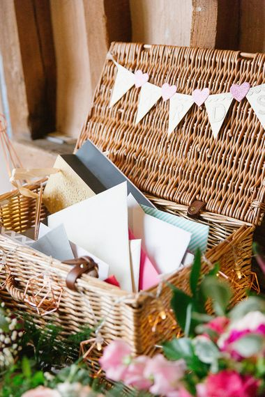 Rustic Hamper For Wedding Cards | Wedding Decor