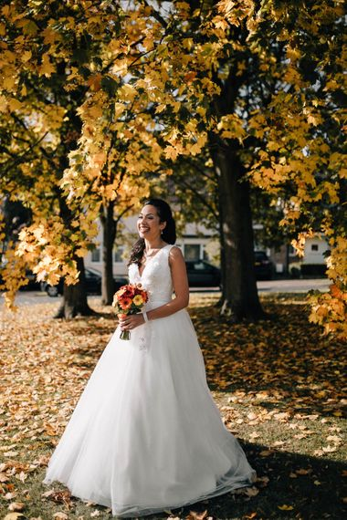 Gorgeous Bride In Jay's Bridal Princess Dress