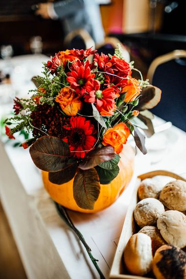 Autumnal Village Hall Budget Wedding With Bridesmaids In Tulle Skirts And Images By Beatrici Photography
