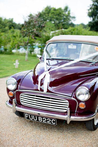 Vintage Car Wedding Transport