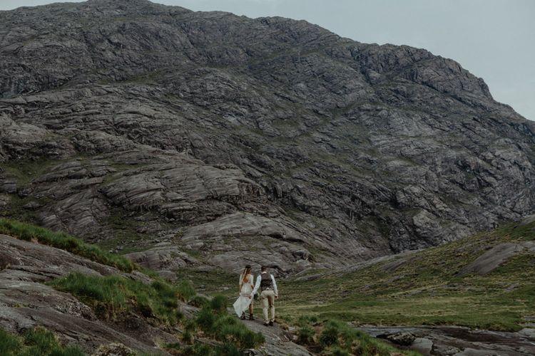 Cuillin Mountains | Isle of Sky Elopement Wedding | Wonderful & Strange Photography