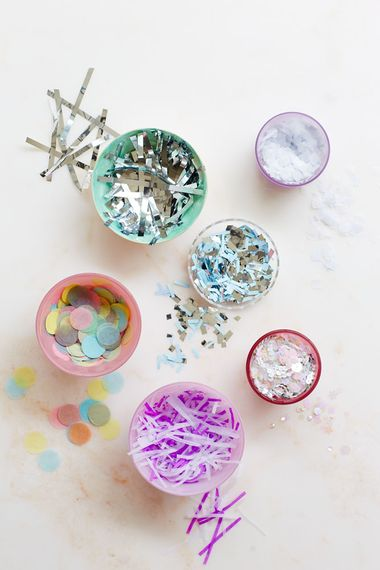 Different Types Of Confetti by Berin Made