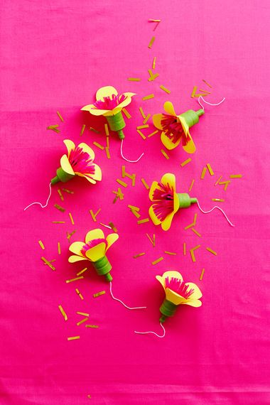 Flower Power Party Poppers by Berin Made