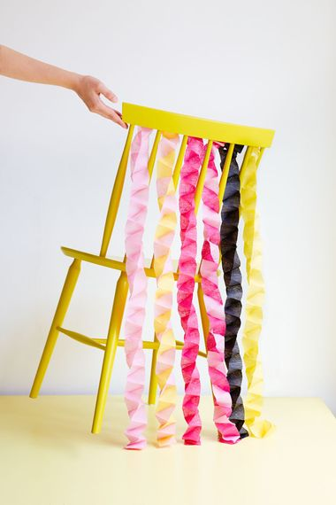 Paper Chair Garlands by Berin Made