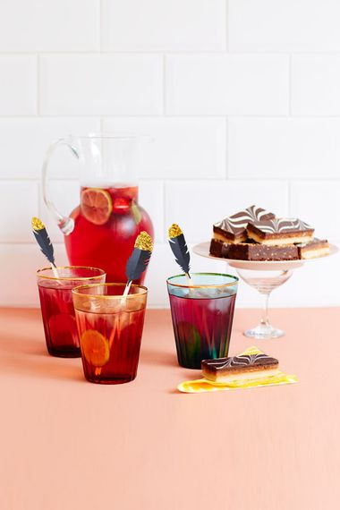 Glitter Dipped Drinks Sticks by Berin Made