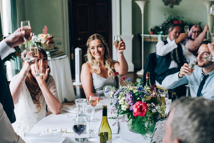 Colourful Wedding at Kelmarsh Hall in Northamptonshire | Casey Avenue Photography