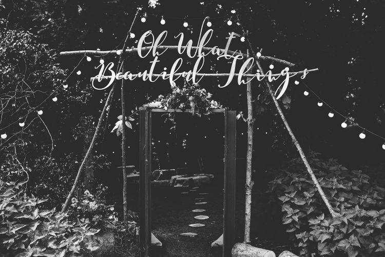 DIY Wedding Decor | Bright At Home Tipi Wedding | Barney Walters Photography
