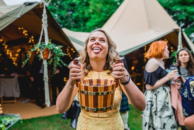 Bright At Home Tipi Wedding | Barney Walters Photography