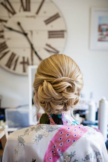 Twisted Bridal Up Do | Blink Photography