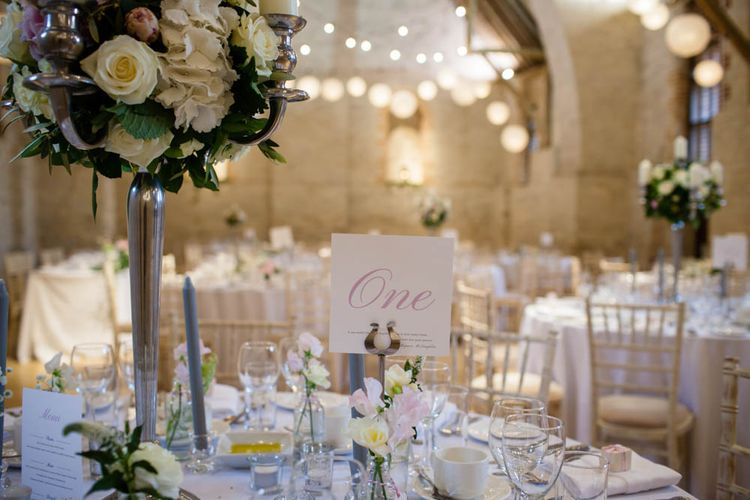 Classic Pink Wedding at The Tithe Barn in Hampshire | Blink Photography