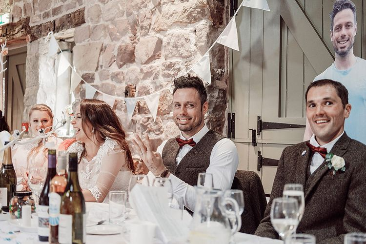 Wedding Speeches at The Ashes Barns in Staffordshire