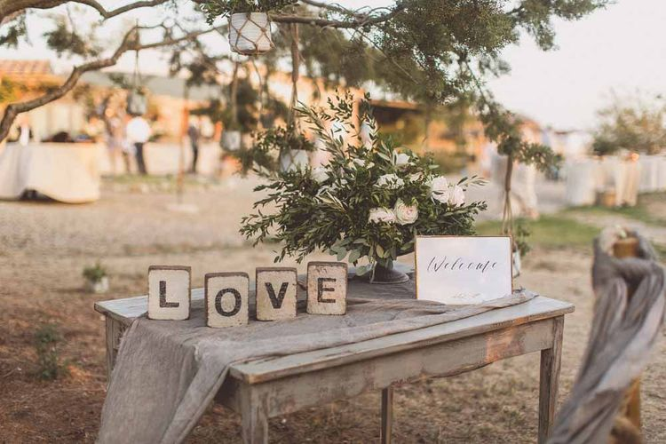 Rustic Luxe Wedding In Tuscany Styled By The Wedding Of My Dreams With Flowers By Passion For Flowers Anna Campbell Bride Images & Film From WE ARE // THE CLARKES