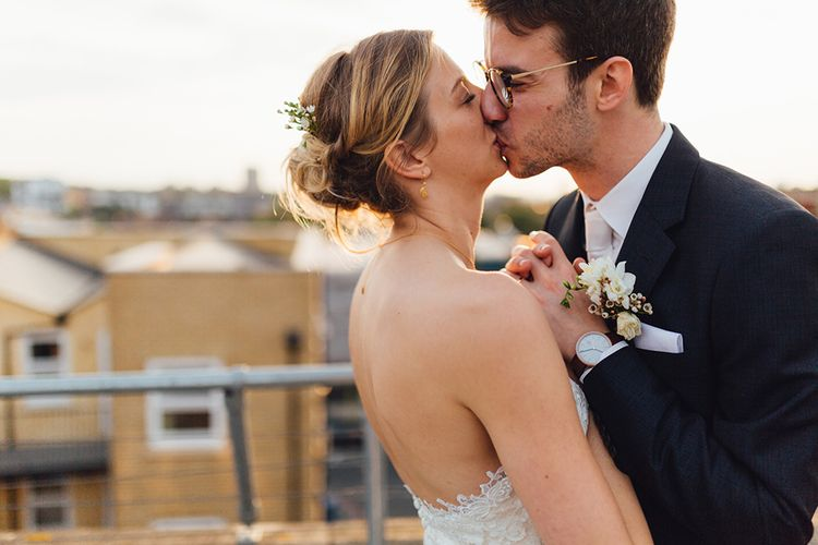 Stylish Wedding At One Friendly Place London With Bride In Pronovias And Groom In Paul Smith With Images From Miss Gen Photography