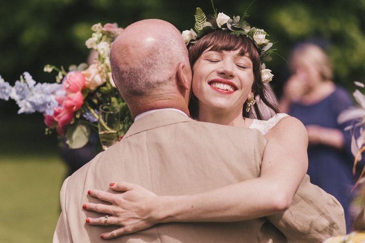 Bride in Flower Crown