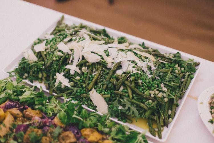 Wedding Food Sharing Salads