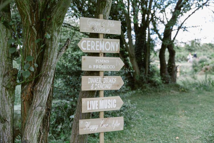 Wooden Wedding Sign   Wedding Decor   Natalie J Weddings Photography